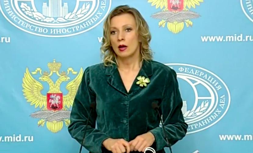Мария Захарова расхвалила на брифинге сирийскую черешню