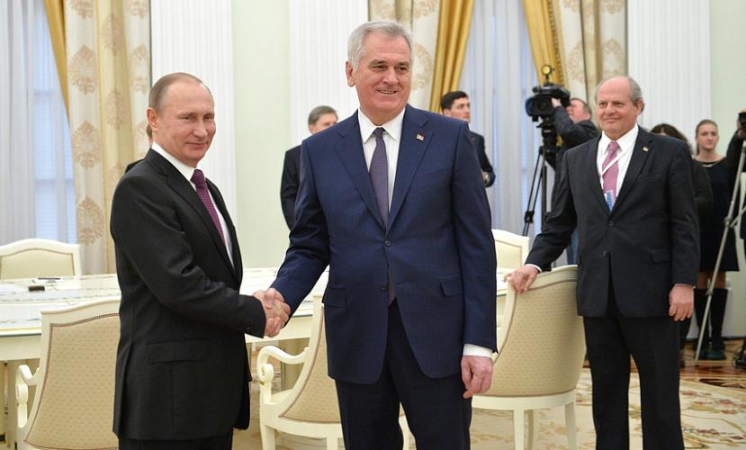 Президент Сербии сравнил Путина с русским царем