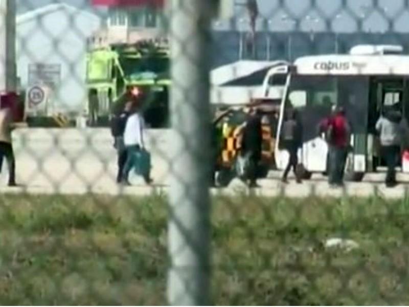 Захват и освобождение заложников из лайнера на Кипре попали на видео