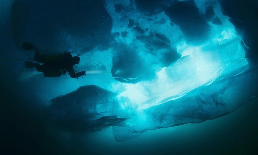Российские аквалангисты установили рискованный рекорд на Белом море