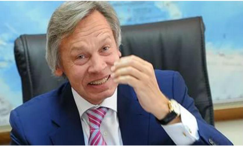 Пушков предложил генсеку НАТО перестать сражаться с