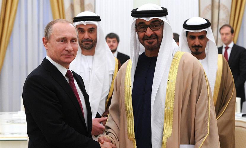 Путин и арабский принц обсудили перспективы роста торговли России с Эмиратами