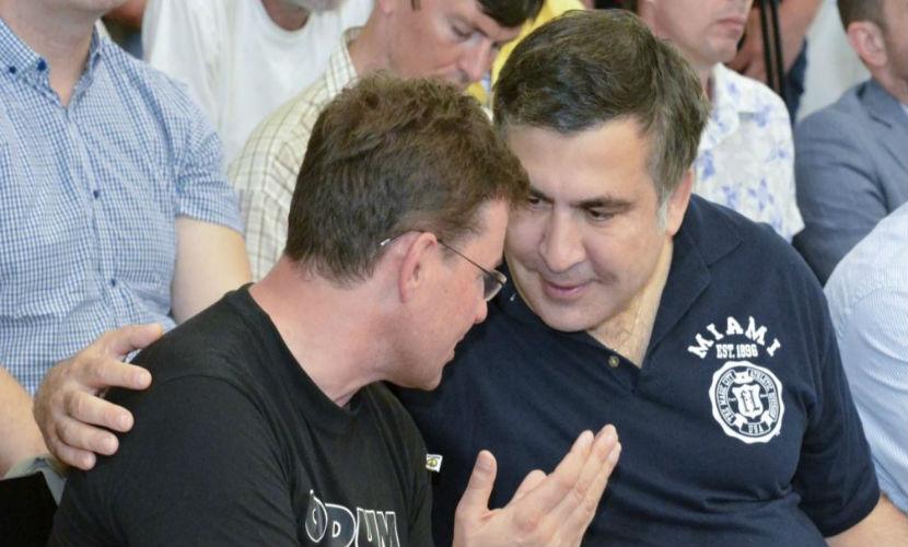 Советник губернатора Саакашвили заявил об отъезде из Украины