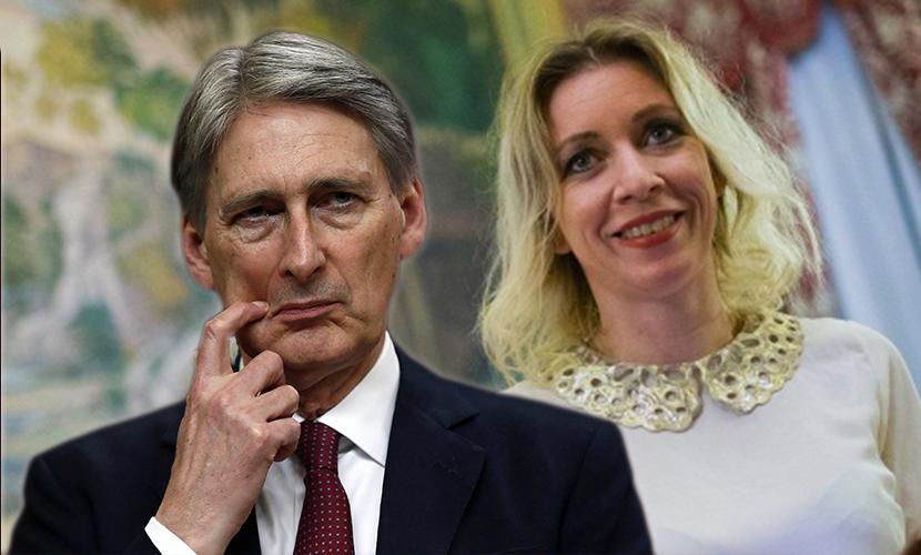 Захарова пошутила о главе МИД Британии,