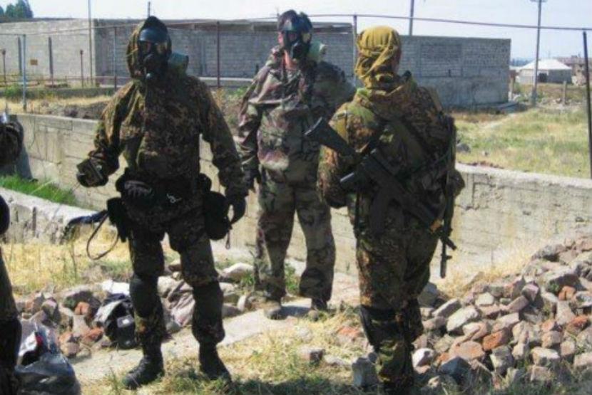 Во время двойного нападения на КПП в Дагестане ранили полицейского