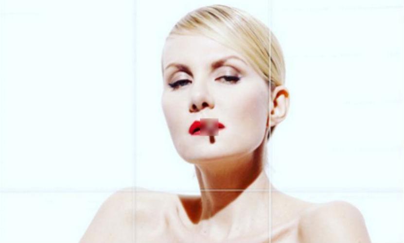Рената Литвинова разместила провокационное фото топлес со съемок
