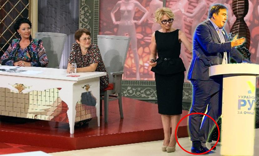 Модник Саакашвили взорвал Интернет новым способом носить штаны