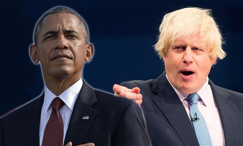 Мэр Лондона обвинил Обаму в лицемерии и нарциссизме за приказы Британии