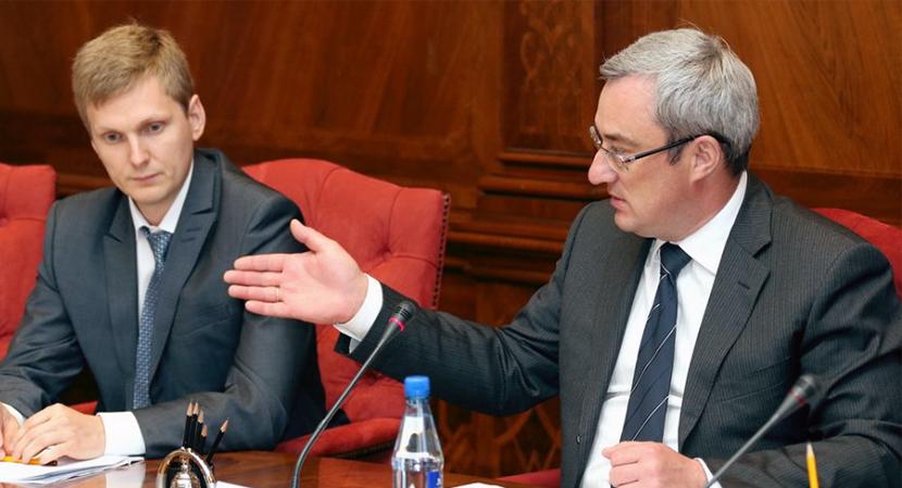Илья Перваков и Вячеслав Гайзер