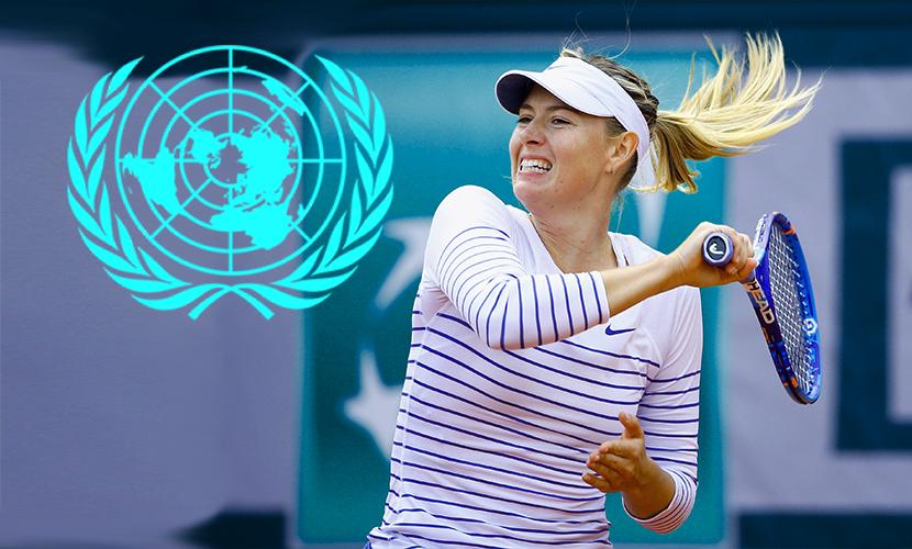 ООН отказалась от Шараповой из-за скандала с допингом