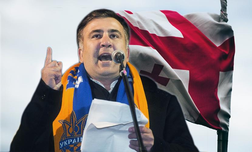 Грузину Саакашвили стало стыдно за иностранцев в руководстве Украины