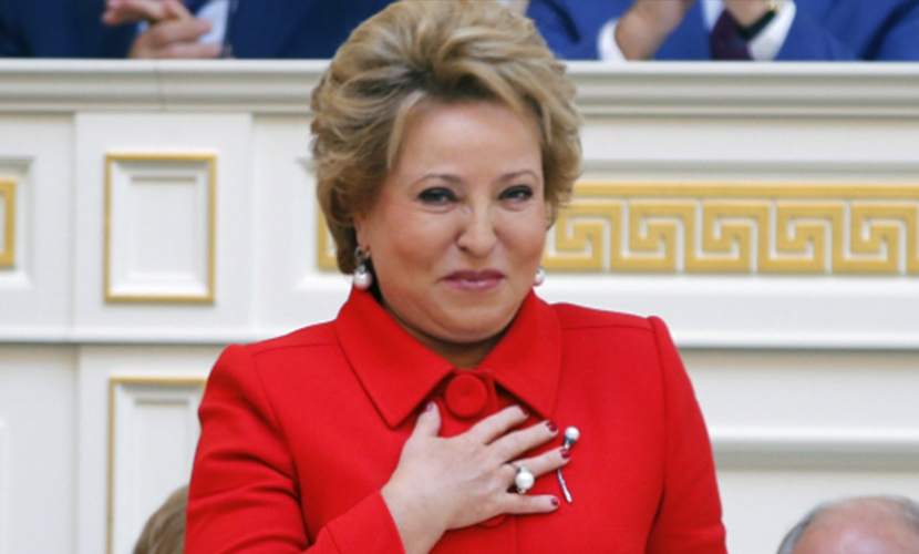 Матвиенко послала сигнал россиянам, скупающим валюту
