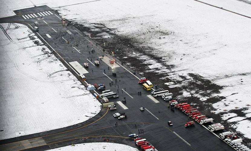 В аэропорту Ростова-на-Дону восстановили взлетно-посадочную полосу после авиакатастрофы