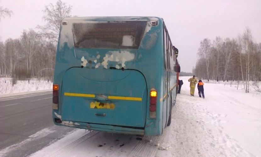 Водитель автобуса умер за рулем при выезде из Казани