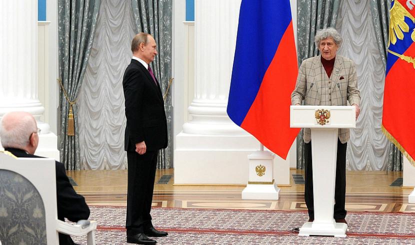 Путин наградил автора всенародно любимого мультфильма «Бременские музыканты»