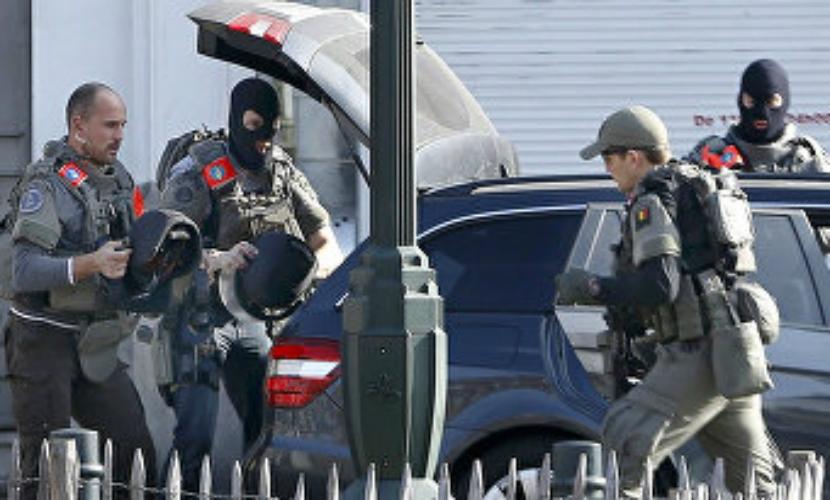 Операцию против террористов в Брюсселе завершили спецслужбы