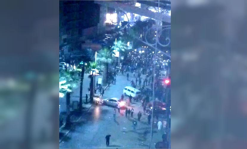 Две полицейские машины взорвали в Гизе, есть пострадавшие