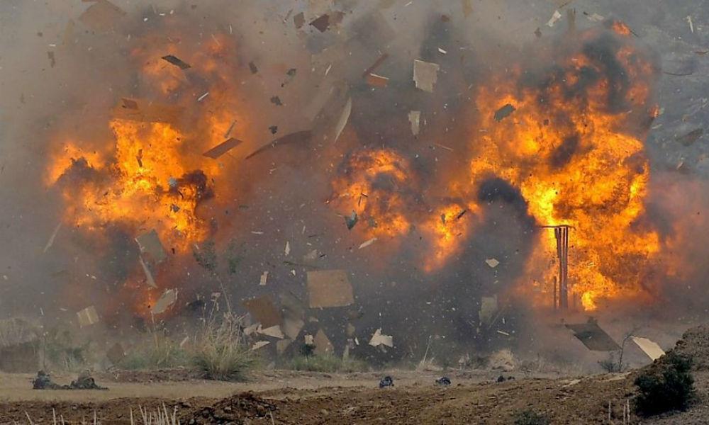 Теракт в Дагестане: взорваны бронированные автомобили с полицейскими, есть жертвы