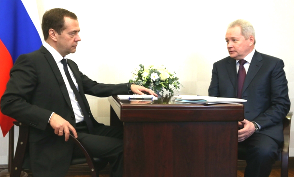 Медведев на встрече с пермским губернатором назвал стоимость российских школ