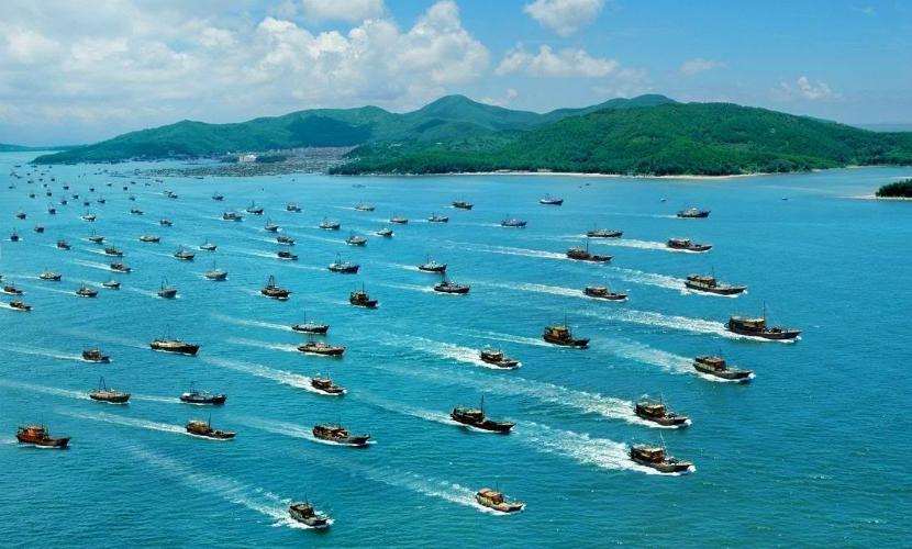100 кораблей Китая вторглись в территориальные воды Малайзии