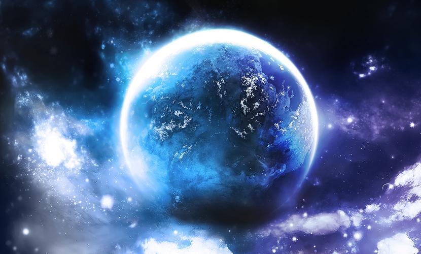 Гигантский океан вокруг самого мощного источника энергии во Вселенной обнаружили астрономы