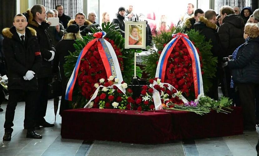 Отпевание Натальи Крачковской состоялось в храме на Кунцевском кладбище