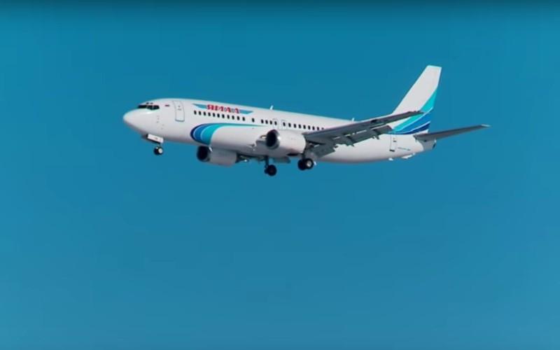Видео экстренной посадки Boeing без одного колеса шасси в Тюмени появилось в Сети
