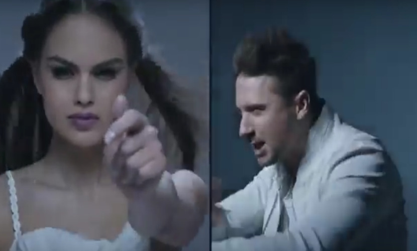 Клип Сергея Лазарева на песню для