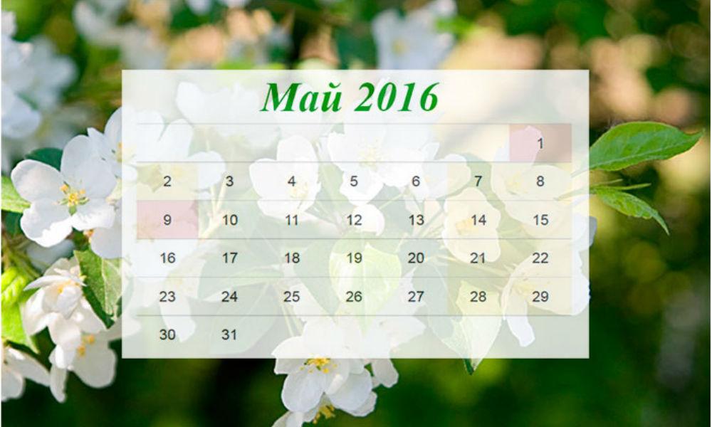 Россиянам напомнили, что на майские праздники будет 7 выходных дней