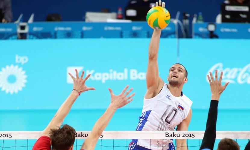 В список российских спортсменов - жертв мельдония - попал волейболист Александр Маркин