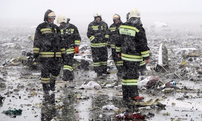 Поисково-спасательная операция на месте катастрофы Boeing завершилась в Ростове-на-Дону