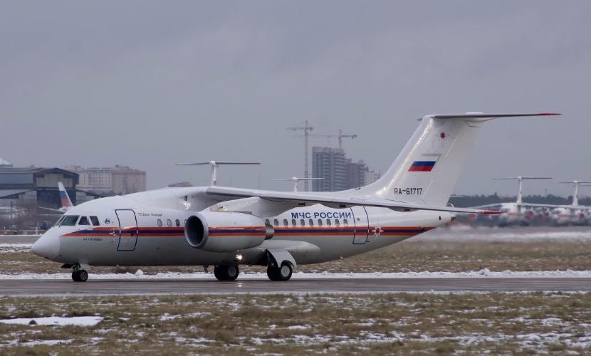 Борт МЧС России протестировал взлетно-посадочную полосу ростовского аэропорта