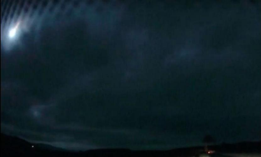 НЛО с яркими вспышками напугал жителей Шотландии