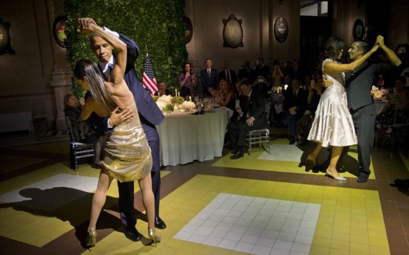Обама исполнил самый сексуальный танец мира с чужой женой