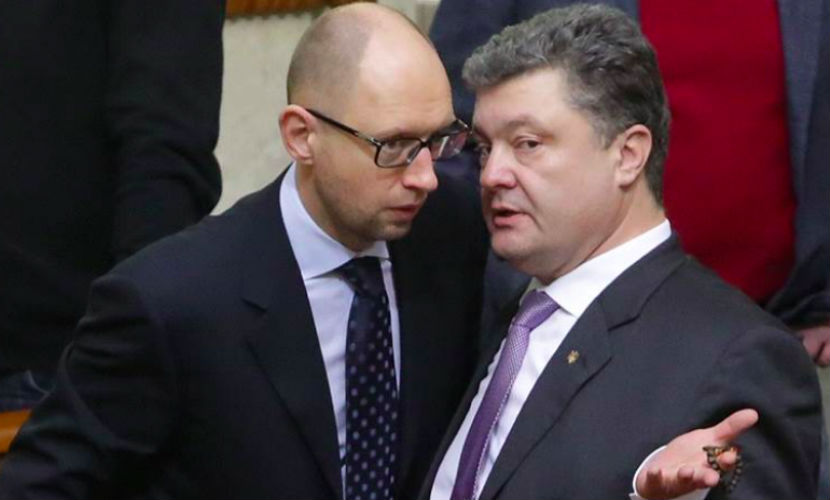 Порошенко рассказал, кто должен заменить Яценюка на посту премьера