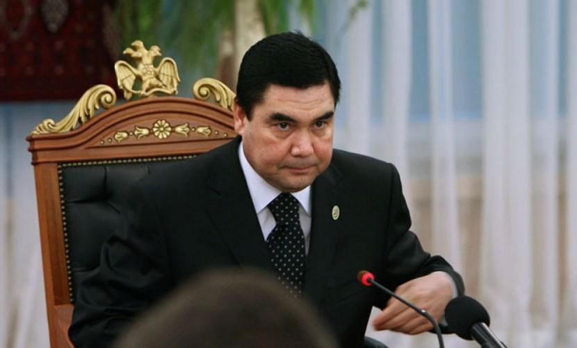 Голливудскую стрельбу лидера Туркмении сняли навидео— Президент-туркменатор