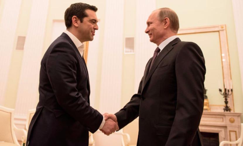 Путин обсудил с Ципрасом миграционный кризис в Европе