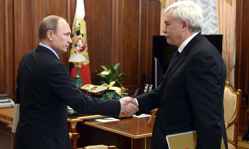 Полтавченко заявил Путину о выполнении майских указов