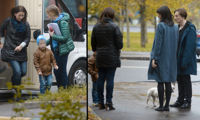 Безруков познакомил Матисон с бывшей любовницей и со своим сыном