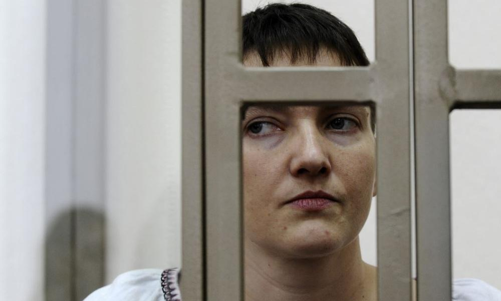 Надежда Савченко будет отбывать срок в российской тюрьме, - Кремль