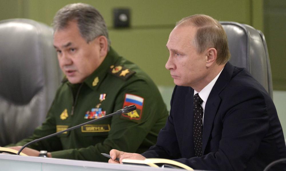 Путин поручил Шойгу разминировать Пальмиру