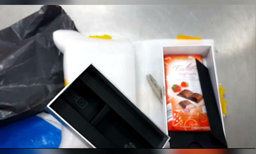 Мужчина из Ростова купил на Аliexpress смартфон, а получил шоколадку