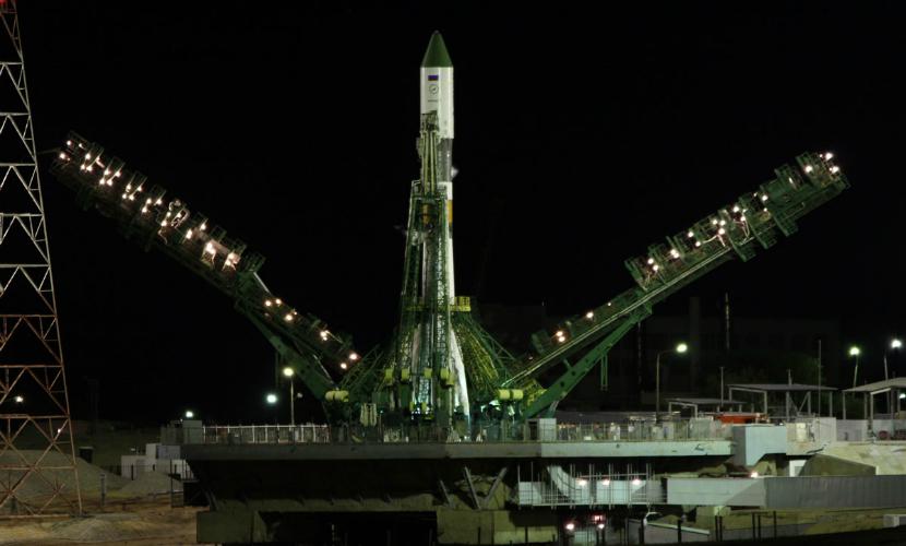 Запуск ракеты-носителя «Союз» с Байконура перенесли после отказа двигателя