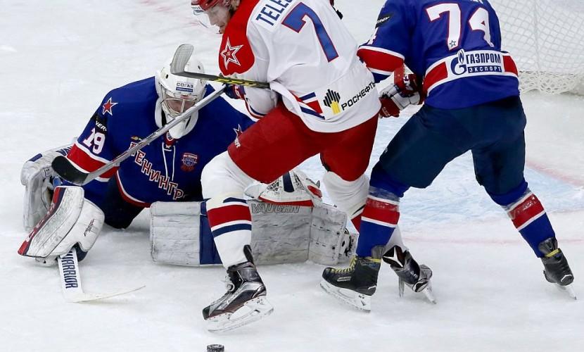 Телегин и Андронов привезли хоккейный ЦСКА в первый финал Кубка Гагарина в истории клуба