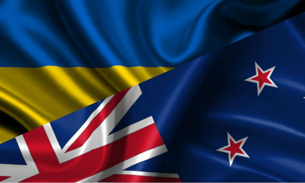 Размеры Австралии, Украины и США на фоне России