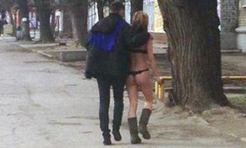 снял девушку на улице русское смотреть бесплатно