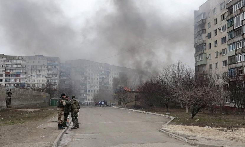 Российских журналистов обстреляли в Донбассе