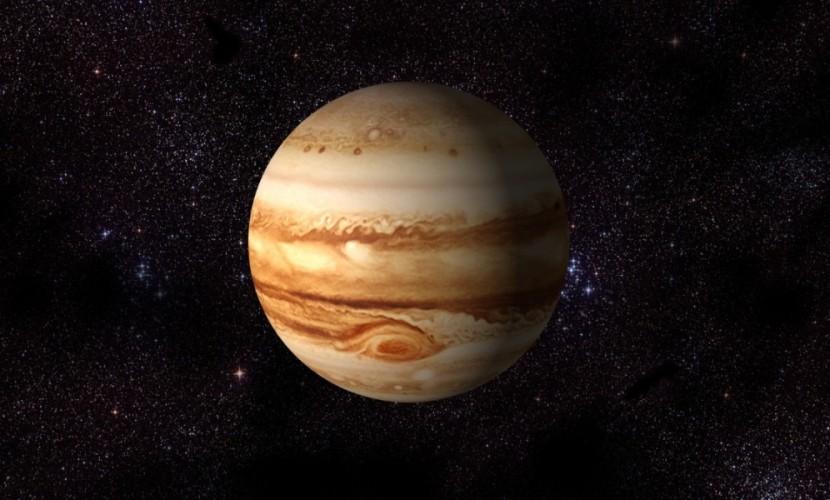 Опубликовано видео появления у планеты Юпитер неопознанного летающего объекта