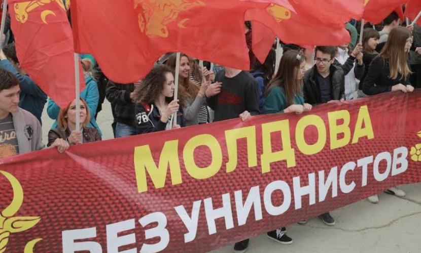 Более 20 тысяч граждан Молдавии вышли на марши против объединения с Румынией