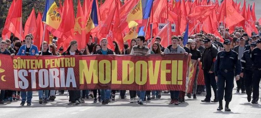 Молдавия митинг 7